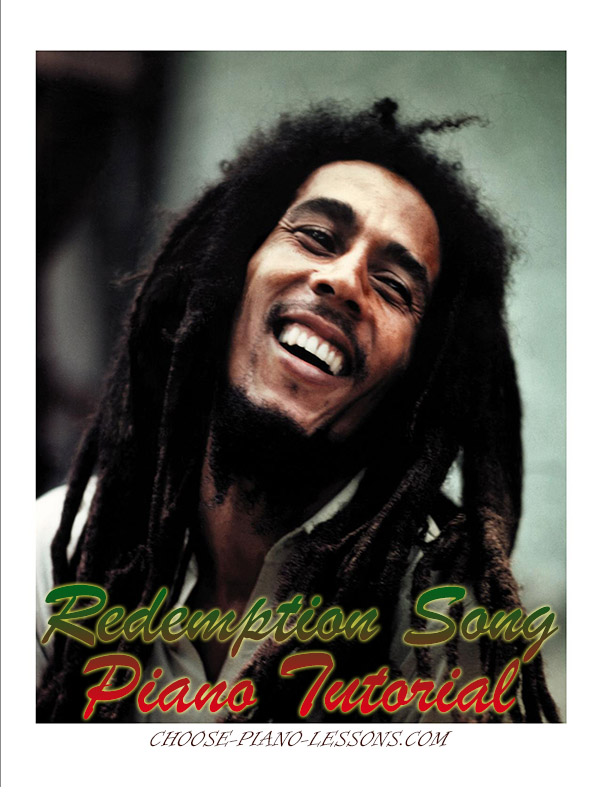 Redemption Song Piano Chords Learn To Play It On The Piano