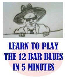 writing a 12 bar blues song sheet